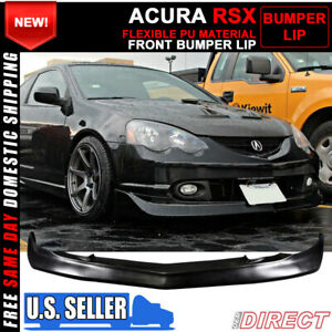 For 02 04 Acura Rsx Mugen Style Front Rear Lip W Led Brake Light