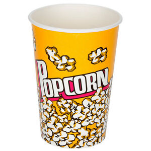 Popcorn Cups 46oz Case Of 500