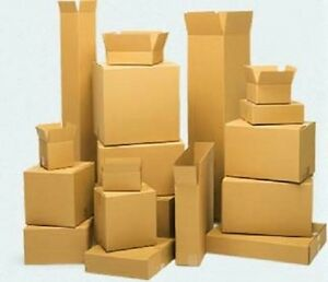 24x12x24 Shipping Moving Packing Boxes 10 Ct