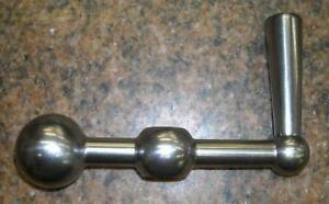 New Ball Crank Handle For Bridgeport Series I Mills step Pulley Or Vs