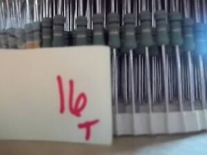 Sei R89 7263 Rsm2w 100 5 Resistors 100 Ohm 2w 10034 Lot Of 6400 315