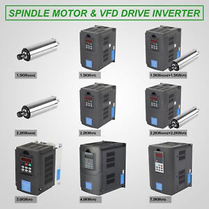 Vfd Drive Water Cooled Spindle Mill Grind Coole Motor Variable Reliable Seller