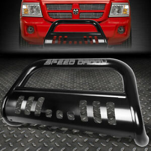 For 05 11 Dodge Dakota Truck Black 3 Bull Bar Push Bumper Grille Guard skid Kit