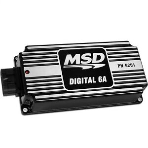 Msd Ignition 62013 Digital 6a Ignition Box Works On Most Distributor Engines