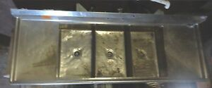 3 Basin Bay Stainless 8 8 W 2 Drainboards Sink Restaurant Kitchen Code