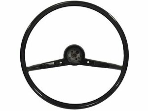 1957 Chevy Tri Five Volante Oe Series Steering Wheel Black 18 Reproduction
