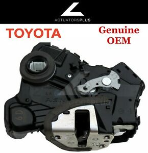 Toyota Prius C Oem Front Left Door Lock Actuator 2012 2016 Lifetime Warranty