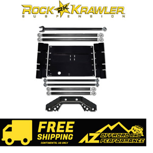 Rock Krawler X Factor Long Arm Upgrade 97 02 Jeep Wrangler Tj Tjxfla Upg 01