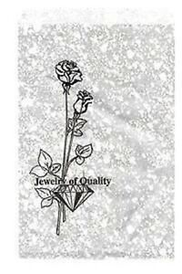 1000 Jewelry Paper Shopping Gift Bag 6x9 1silver Tone