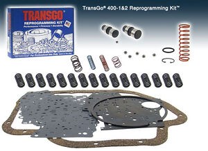 Transgo Thm400 Th400 400 3l80 Reprogramming Shift Kit Sk400 1 2