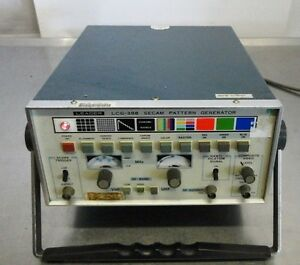 Leader Lcg 398a Secam Tv Pattern Generator Used 30 Day Guarantee