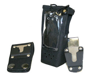 Radio Holster Motorola Cp185 D ring Police Fire