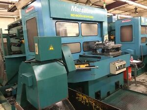 1997 Matsuura 900h Cnc Horizontal Machining Center hmc 7710294