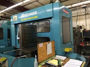 1996 Matsuura 900h Cnc Horizontal Machining Center hmc 7710295