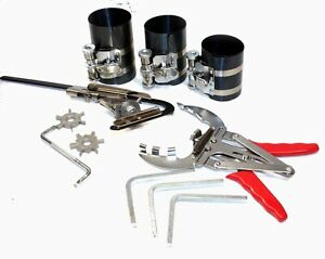 Engine Piston Ring Service Compressor Tool Set Kit Auto Truck Cleaning Service