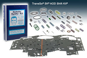 Transgo Transmission Shift Kit Ford Aod 1979 1993 79 93 Skaod Sk Aod