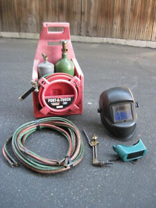 Lincoln Electric Port A Torch Kit Cutter Welder Brazer Torch Welding Equipment