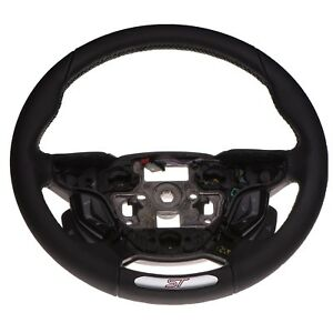 Oem New Black Leather Steering Wheel W Sync Cruise Control 12 14 Ford Focus St