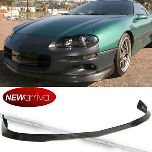 Fit 98 02 Camaro Ra Style Pu Front Bumper Lip Spoiler Body Kit Add On Unpainted