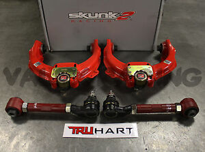 Skunk2 Pro Front Truhart Rear Camber Kit Combo For 04 08 Acura Tl