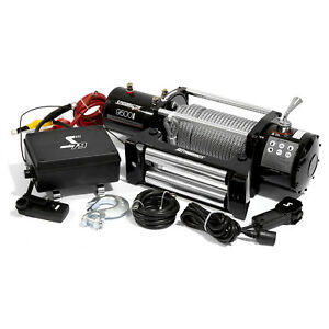 Speedmaster 9500lbs 4310kgs 12v Electric 4wd Winch Kit W Wireless Remote