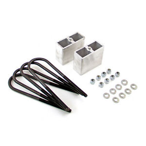 4 Lift And Lowering Kit Aluminum Block With U Bolts And Hardware