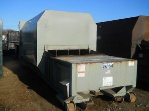 Roll off Marathon 30 Yard Self Contained Compactor With Power Pack