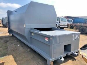 Roll off Ptr 30 Yard Self Contained Compactor With Power Pack