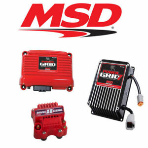 Msd 9960 Power Grid Ignition Kit 7730 Controller 7720 Ignition 8261 Hvc Coil