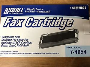 Sharp Ux3cr Thermal Fax Ribbon For Ux300 Ux400 Fax Machines total 16 Ribbons
