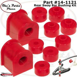 Prothane 14 1121 Rear 17mm Sway Bar End Link Bushings For 89 94 Nissan 240sx S14