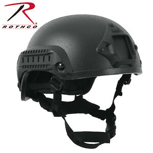 Black ABS Tactical Base Jumping Airsoft Helmet Paint Ball Helmet Rothco 1894
