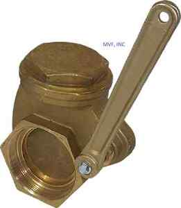 Quick Opening Gate Valve Bronze 3 Npt 200 Wog Lever Operated New