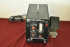 Ok Industries Metcal Fcr 2000 Forced Convention Rework Station Model 2201 tested