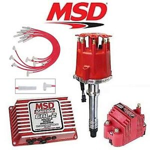 Msd 9151 Ignition Kit Digital 6al 2 Distributor Wires Coil Big Block Chevy