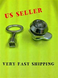 Lot Of 10 Steel Cam Lock Electric Panels Covers Cabinet With Key 060 1 1 28 10