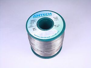 4300 Amtech Solder Wire Sn96 5 Ag3 0 Cu0 5 015 Lead Free 3 3 Flux Core 15oz