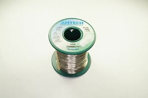 4300 Amtech Solder Wire Sn96 5 Ag3 0 Cu0 5 015 Lead Free 3 3 Flux Core 7oz