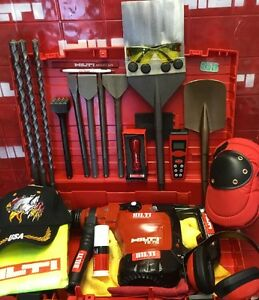 Hilti Te 76 Hammer Drill L k Preowned Free Distance Measurer Fast Shipping