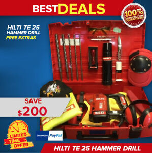 Hilti Te 25 L k Great Condition Strong Free Thermos Original Fast Ship