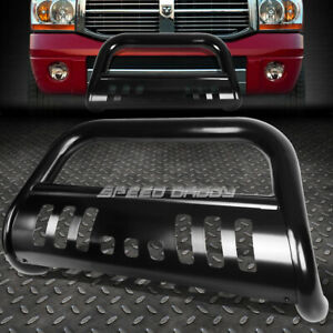 For 11 16 Dodge Durango Grand Cherokee Black 3 Bull Bar Push Bumper Grille Guard