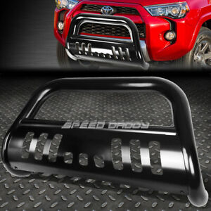 For 10 16 Toyota 4runner N280 Suv Black 3 bull Bar Push Bumper Grille Guard skid