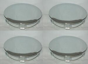 4 Cap Deal 1991 1995 Ford Mustang Pony Chrome Wheel Rim Center Caps 941517