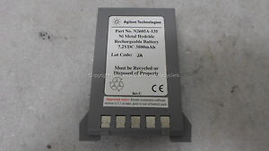 Parts Or Repair Agilent N2605a 135 Ni Metal Hydride 7 2vdc 3800 Mah Battery