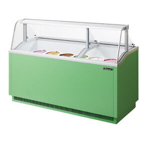 Turbo Air Tidc 70g n Ice Cream Dipping Cabinet Green