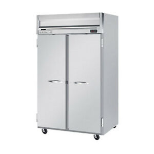 Beverage Air Hrps2hc 1s Solid Door Two section Reach in Refrigerator