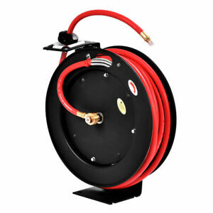 3 8 X 25 Auto Rewind Retractable Air Hose Reel Compressor 300 Psi New
