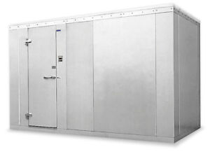 Norlake 10x16x8 7 Nor lake Fast Trak Outdoor Walk In Cooler W Remote Condenser