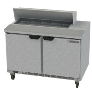 Beverage Air Spe48hc 10 48 Refrigerated Sandwich Salad Prep Table