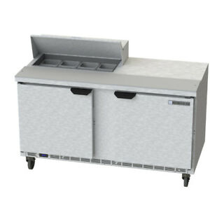 Beverage Air Spe60hc 08 60 Refrigerated Sandwich Salad Prep Table